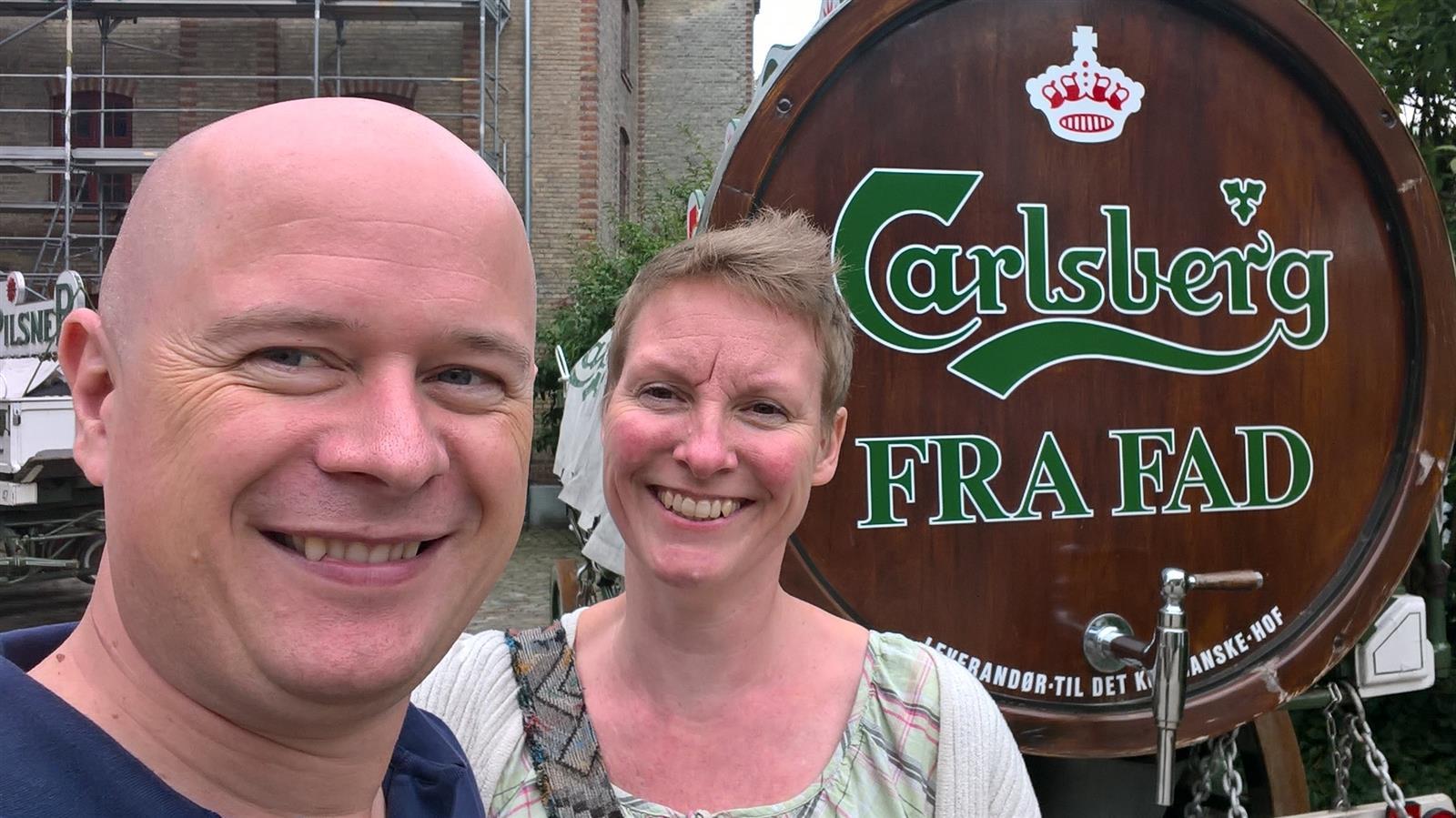 Tur på Carlsberg